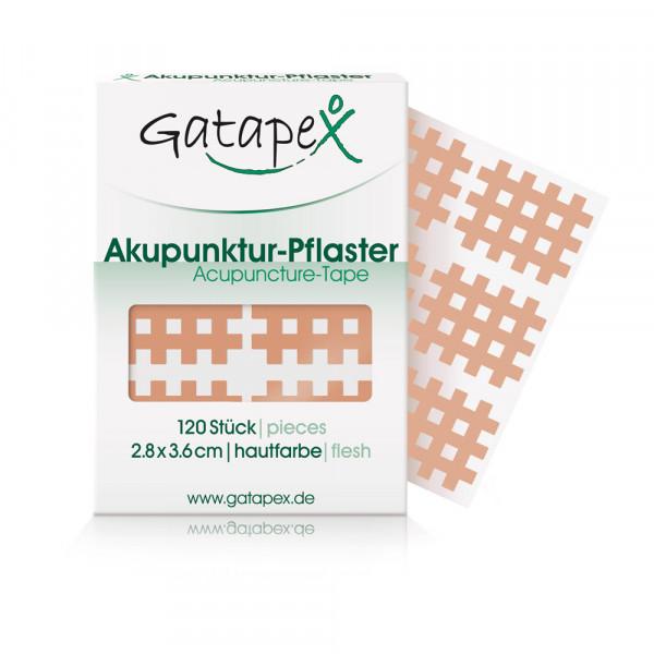 Akupunktur-Pflaster (Größe M) 2,8x3,6cm haut 120 Stück