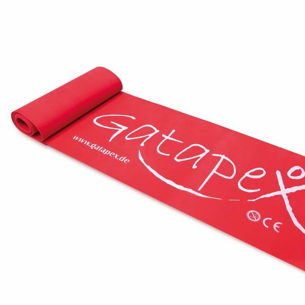 Gatapex Fitness-Band 2,5m x 14,5cm stark-rot