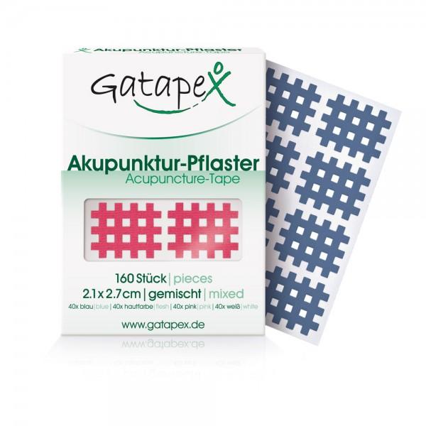 Akupunktur-Pflaster (Größe S) 2,1 x 2,7cm, 160 Stück - Farbauswahl