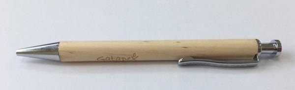 Gatapex Kugelschreiber aus Holz