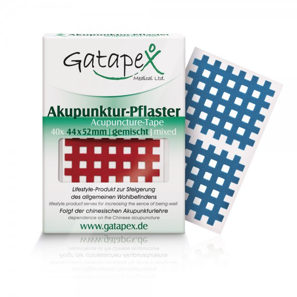 Gatapex Gitter Akupunktur-Pflaster (Größe L) 4,4 x 5,2cm