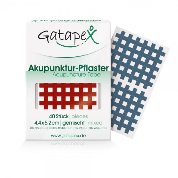 Akupunktur-Pflaster (Größe L) 4,4 x 5,2cm 40 Stück Farbauswahl